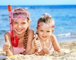 Советы отдыхающим на море с детьми