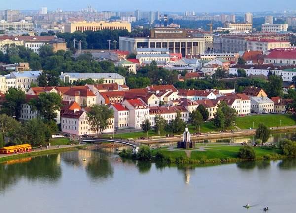 И исторические места белоруссии
