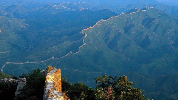 китайская стена из космоса фото